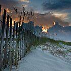 Dawn on Perdido Key by Rachelle Vance