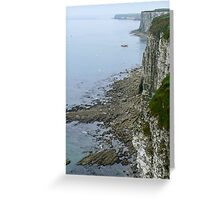 Coastal View Greeting Card