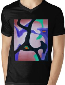 Bush Dance C1   Mens V-Neck T-Shirt