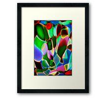 sea garden Framed Print