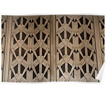 Art Deco Grille Poster