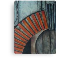 Drain Vent - Pencil Canvas Print