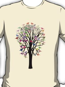 Bird Tree T-Shirt T-Shirt