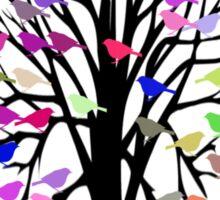 Bird Tree T-Shirt Sticker