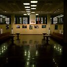 Exposition hall (my exhibition today) by Antanas