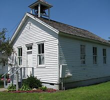 A One Room School house by Susiejwp