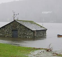 Esthwaite Boat House by Simon Hathaway