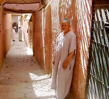 In the souk, Fez by Gordon  Newlands