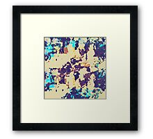 Abstract paint Framed Print