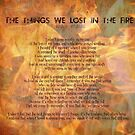 The things we lost in the fire  by S .