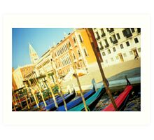Colorful Venice Art Print