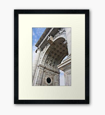 National Memorial Arch Framed Print
