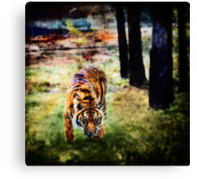 Guess who is coming to dinner     Canvas Print