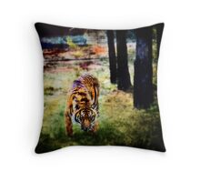 Guess who is coming to dinner     Throw Pillow