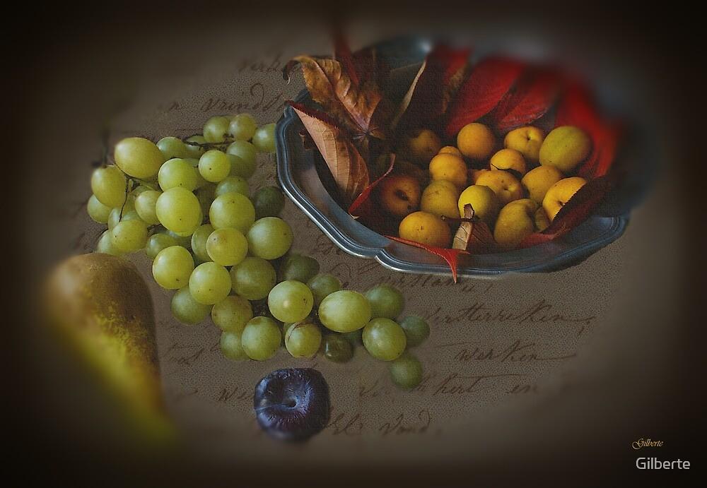 Autumn Fruit by Gilberte