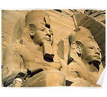 Abu Simbel Poster