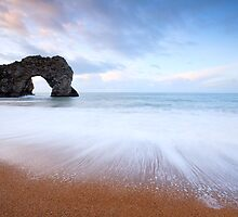 Durdle Door at Dawn by Doug Chinnery