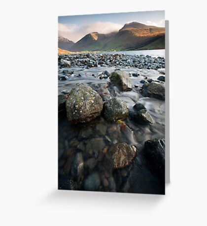 TOWARDS SCAFELL Greeting Card
