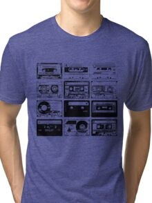 Retro Music 12 Tri-blend T-Shirt