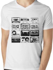 Retro Music 12 Mens V-Neck T-Shirt