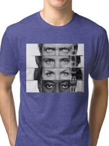 House Faces Tri-blend T-Shirt