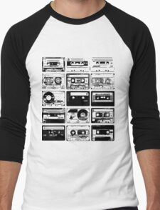 Retro Music 15 Men's Baseball ¾ T-Shirt