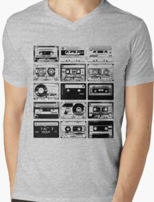 Retro Music 15 Mens V-Neck T-Shirt