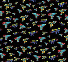 Water gun pattern by solarlullaby