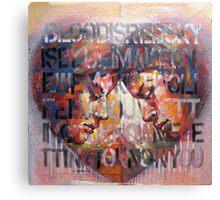 Dialogue Canvas Print