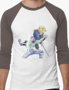 Trunks Vs. Frieza Men's Baseball ¾ T-Shirt