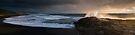 Taharoa Sundown. by Michael Treloar