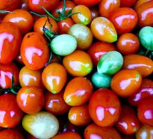 Thinking Summer Tomatoes by Nicole Remolde