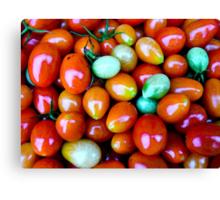 Thinking Summer Tomatoes Canvas Print