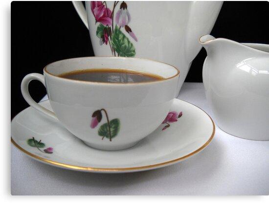 Morning coffee. by Vitta