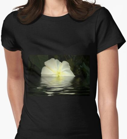 Morning Glory Womens Fitted T-Shirt