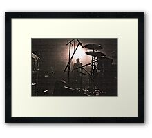 count it Framed Print