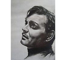 CLARK GABLE..PENCIL ON PAPER Photographic Print