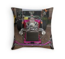 Bling in Show Cars...Chrome Throw Pillow