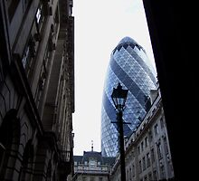 30 St. Mary Axe, City of London. by TimHatcher