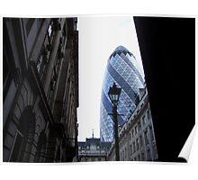 30 St. Mary Axe, City of London. Poster
