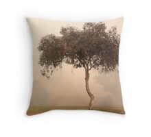 Foggy Morning, Bridgetown, Western Australia Throw Pillow