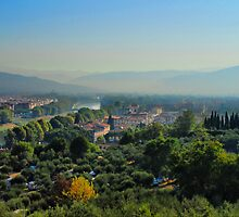 Hills of Tuscany by andreisky