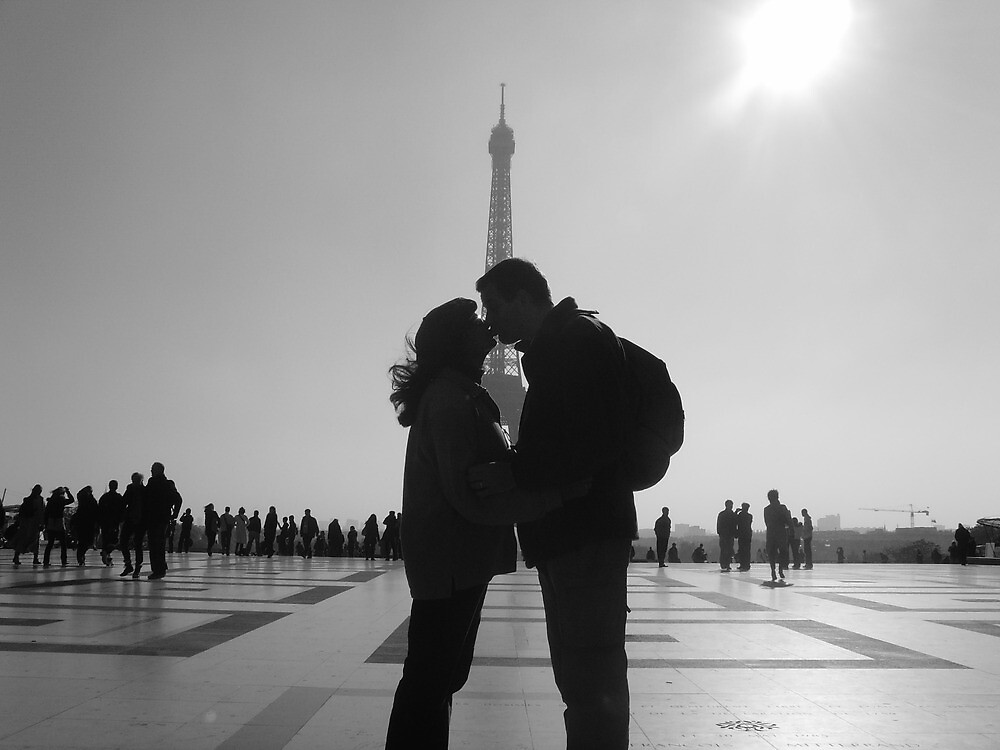 And who says paris isn't the city of love? by Xia Pepper