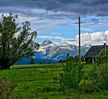 South End of the Mission Mountains by Bryan D. Spellman