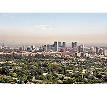 Los Angeles, California - Glitter and Trouble Photographic Print