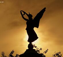 Angel Silhouette by Kevin Cotterell