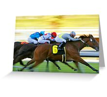 Win, Place, Show Greeting Card
