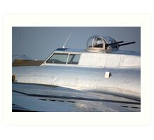B-17 Yankee Lady top gun turret Art Print