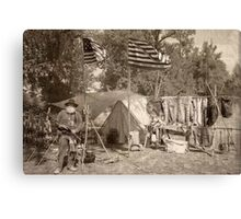 Camp of the Patriot Canvas Print