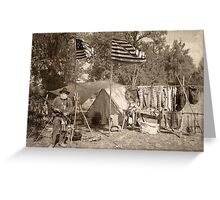 Camp of the Patriot Greeting Card